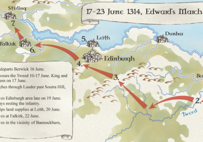 Bannockburn_Map1